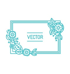 Abstract frame and background vector