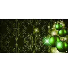 Elegant Merry Christmas background vector image vector image