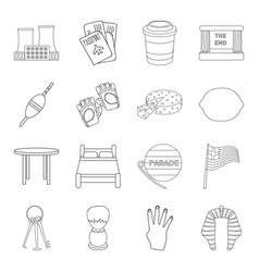 Travel fishing sport and other web icon in vector