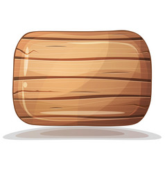 Wood texture brown box vector