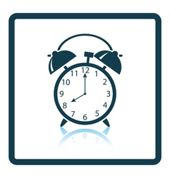 Icon of alarm clock vector