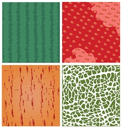 fruit texture set vector image
