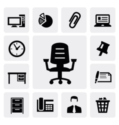 Office equipment vector