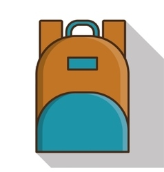 Bag of baggage and luggage concept vector