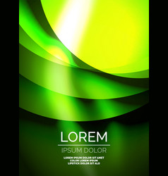 shiny silk wave template color satin with effects vector image