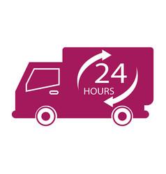 24 hours label vector