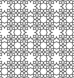 Delicate seamless pattern in arabic style vector image