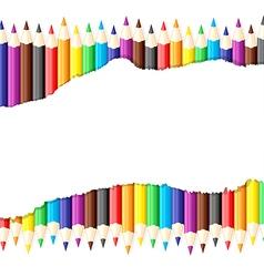 pencil sheet vector image vector image