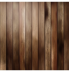 Big brown wood plank wall texture vector
