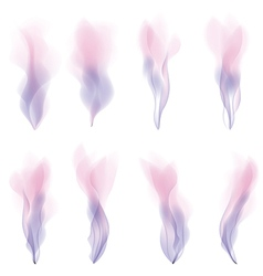 Pink smoke strokes background version vector