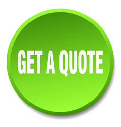 Get a quote green round flat isolated push button vector