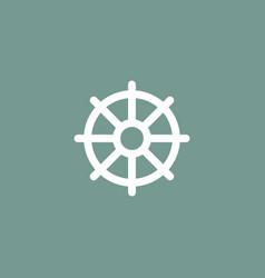 Helm icon simple vector