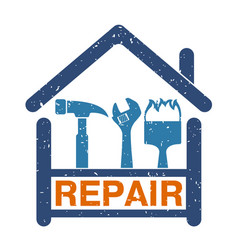 Home repair symbol vector