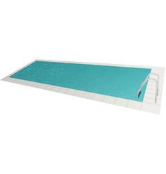 swimming pool vector image