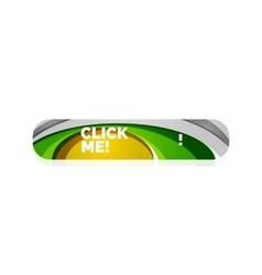 Abstract button template vector