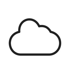 Cloud technology vector