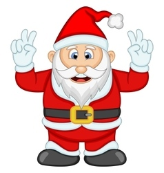 Santa claus for your design vector