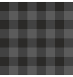 Tile grey and black plaid pattern vector