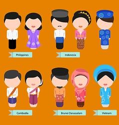 Asean clothing2 vector