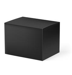 Black box vector image vector image