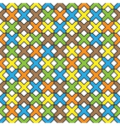Color pattern 06 vector image