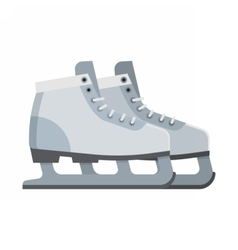 Ice Skating Shoes vector image vector image