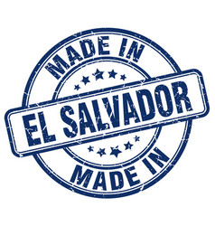 Made in el salvador vector