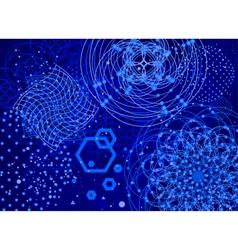 Sacred geometry backdrop vector