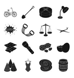 clothes fitness transportation and other web vector image