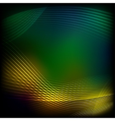 Abstract yellow-green background vector
