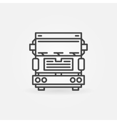 Truck icon or logo vector