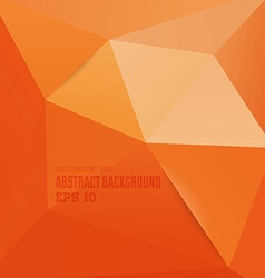 Abstract triangular background vector