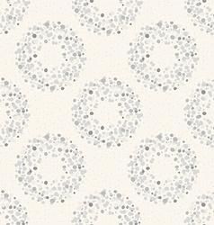 Stylish dots texture A seamless polka dot vector image