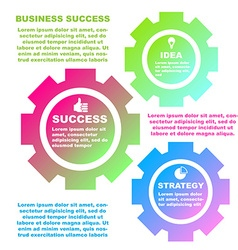BusinessIdea-02 vector image vector image