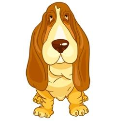 Cartoon character dog vector