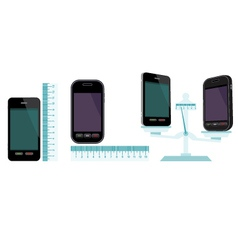 Comparative characteristics of phones vector