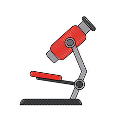 Microscope scientific tool vector