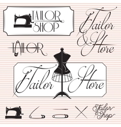 Set of templates for promotional signage for vector