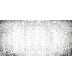 White abstract mosaic background vector