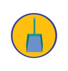 Dustpan icon vector image vector image
