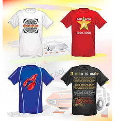 t-shirts design vector image vector image