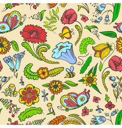 Floral summer vector