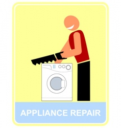 repair and service vector image