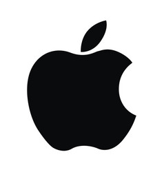 Apple logo computer ipad iphone software vector