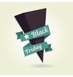 Black Friday pointer Template for your banner or vector image vector image