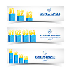 business chart infographics vector image