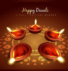 Diwali greeting vector