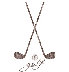 golf 39 vector image vector image