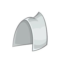 Traditional sweden headwear icon cartoon style vector image