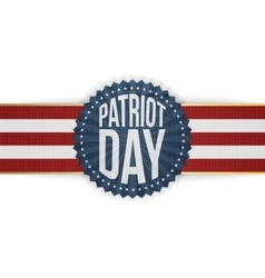 Patriot day paper festive banner vector